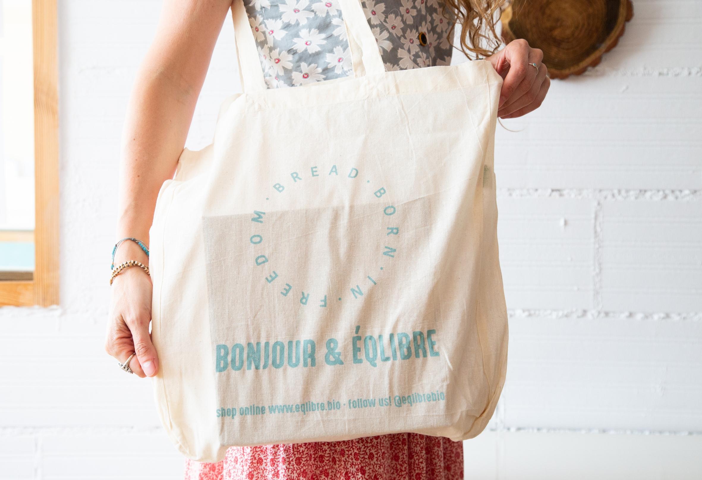 Bolsa Bonjour para llevar pan sin gluten